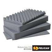美國 PELICAN 1511 泡棉組 四層 適用1510 1514 1510M 氣密箱 公司貨
