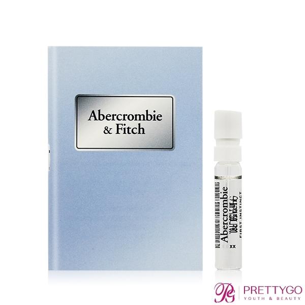 Abercrombie&Fitch A&F 湛藍女性淡香精針管(2ml)【美麗購】