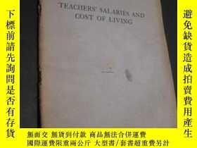 二手書博民逛書店teachers 罕見salaries and cost of