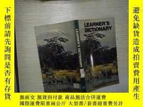 二手書博民逛書店LEARNER S罕見DICTIONARY(01)Y180897