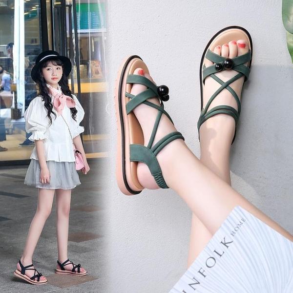 女童涼鞋 新款夏季韓版女童涼鞋公主兒童涼鞋 淇朵市集