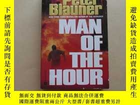 二手書博民逛書店Man罕見of the HourY2931 Peter Blauner Grand Central Publi