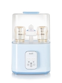 奶瓶消毒鍋 嬰兒奶瓶消毒器帶烘干機暖奶 三合一專用溫奶鍋柜二合一 220V 亞斯藍