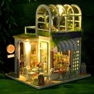 diy小屋閣樓花房解悶手工拼裝小房子建筑模型拼裝玩具生日禮物女 蘿莉新品