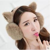 聖誕節狂歡 耳罩保暖女學生可愛韓版冬季護耳捂時尚毛絨耳套女貓耳朵秋冬卡通 森活雜貨