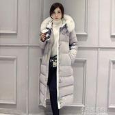 羽絨棉衣服學生寬鬆加厚冬天外套中長款棉服女長過膝棉襖『小宅妮時尚』