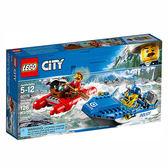 樂高積木 LEGO《 LT60176 》City 城市系列 - 急流大逃亡 ╭★ JOYBUS 玩具百貨