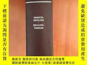 二手書博民逛書店The罕見Concise Oxford French DictionaryY11991 Able&Ma