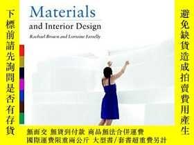 二手書博民逛書店Materials罕見and Interior Design (