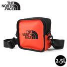 【The North Face Explore Bardu II 斜背包《橘紅》】3VWS/輕巧方形休閒單肩背包/側背包