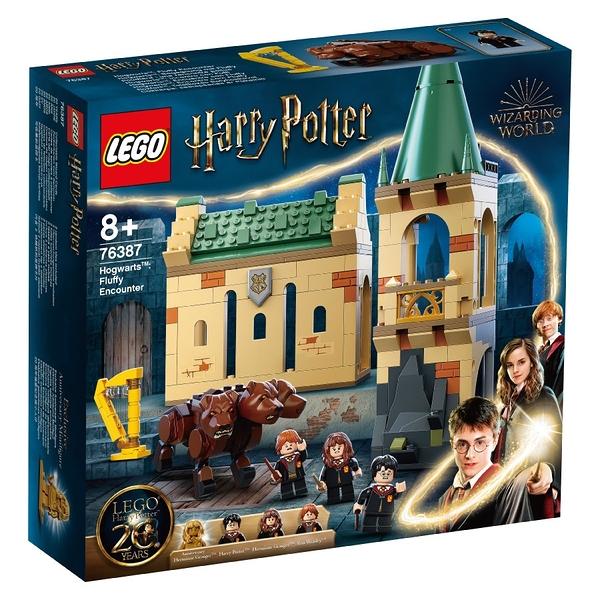 LEGO 樂高 76387 Hogwarts™: Fluffy Encounter 玩具反斗城