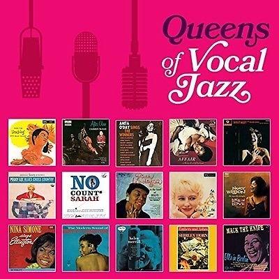 停看聽音響唱片】【CD】QUEENS OF VOCAL JAZZ(8片裝)