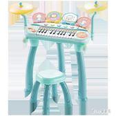 220V 兒童電子琴初學者1-3歲男女孩益智樂器寶寶小鋼琴玩具  LN3449【甜心小妮童裝】