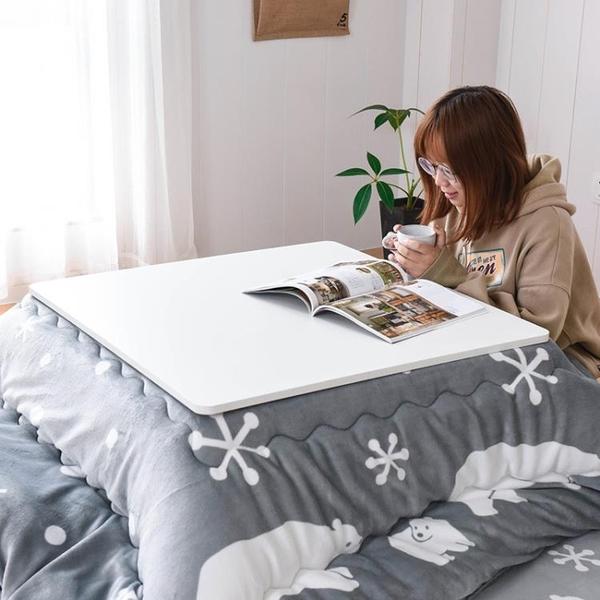 熱銷和室桌こたつ日式折疊收納取暖桌和室矮桌子日本榻榻米茶幾被爐幾桌暖桌 智慧e家LX