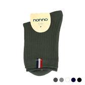 NON-NO 織標羅紋短襪(16~18cm&19~21cm)【愛買】