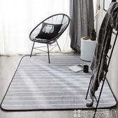 可定制 INS風簡約線條客廳茶幾防滑地毯床邊滿鋪加厚地墊可機洗 可卡衣櫃
