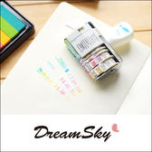 風之谷 文本+日期 印章 滾輪 旋鈕章 DIY 復古 創意 甜美 塗鴉 文具 學生 辦公室 用品 DreamSky