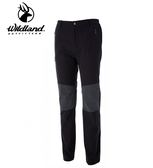 丹大戶外用品【Wildland】荒野 男Re彈性粗曠拼接保暖長褲 型號 0A52362-100 松葉灰