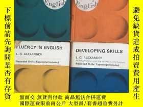 二手書博民逛書店New罕見Concept English Student Book 1-4 全四冊Y4615 Alexande