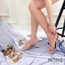 跟鞋 繞踝綁結細帶跟鞋 MA女鞋 T56...