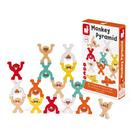 【 法國Janod 】趣味桌遊 - 猴子疊羅漢 / JOYBUS玩具百貨