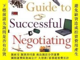 二手書博民逛書店A罕見Woman s Guide To Successful Negotiating: How To Convin