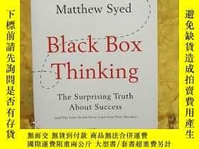 二手書博民逛書店Black罕見Box Thinking: The Surprising Truth About Success