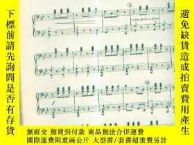 二手書博民逛書店鋼琴合奏曲集【EVERYBODY S罕見FAVORITE PI