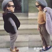 童裝兒童馬甲毛毛坎肩女裝小中大童女寶寶仿皮草背心潮 歐韓時代