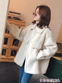 2020秋冬季新款韓版羊羔毛加厚寬鬆bf仿羊絨外套女短款毛茸茸上衣 新年慶
