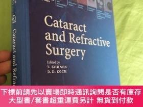 二手書博民逛書店Cataract罕見and Refractive Surgery 白內障和屈光手術【英文原書】Y9636 T.