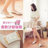 Ann'S夢幻工藝-晶透大理石尖頭舒適平底鞋-米