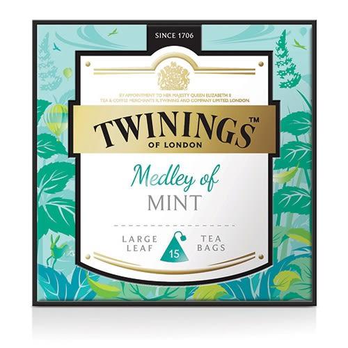 唐寧茶【Twinings】鉑金系列 薄荷圓舞曲茶(2.5gx15入茶包)_2018 限定版