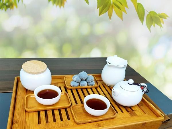 陳年經典普洱茶 小沱茶餅簡約無字款(每顆重約5~6g) 雲南西雙版納勐海