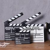 拍電影打板拍照拍攝道具導演板場記板咖啡廳服裝店創意裝飾品擺件  限時八折鉅惠 明天結束