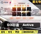 【短毛】03年後 Activa 避光墊 / 台灣製、工廠直營 / activa避光墊 activa 避光墊 activa 短毛 儀表墊