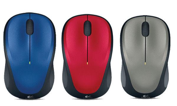 [富廉網] 羅技 Logitech M235 無線滑鼠 M235 Wireless Mouse Unifying 接收器