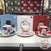 圣誕季 modern house 雪人杯子圣誕老人盤子禮盒裝餐盤馬克杯套裝