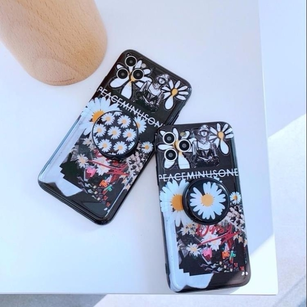 新品特價 網紅GD菊花蘋果11手機殼iPhoneX簡約6S新潮6軟8硅膠7plus防摔XR套