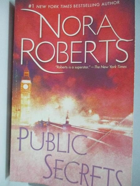 【書寶二手書T9/原文小說_ADT】Public Secrets_Roberts, Nora