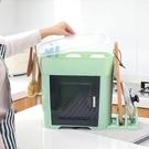 多功能帶蓋碗碟架 放碗架收納盒瀝水架 裝碗筷收納箱 廚房碗櫃置物架