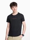 短袖男夏季新品圓領打底衫半袖衣服潮流T恤印花上衣
