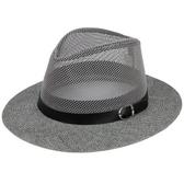 中老年帽子男士夏天大沿草帽爺爺遮陽帽透氣老人男涼帽中年爸爸帽     9號潮人館
