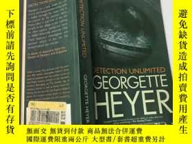 二手書博民逛書店DETECTION罕見UNLIMITED GEORGETTE HEYERY383796