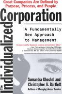 二手書《The Individualized Corporation: A Fundamentally New Approach to Management》 R2Y ISBN:0887308317