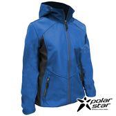 PolarStar 女 Soft Shell保暖外套『深藍』 P18210 戶外│休閒│登山│機能衣│保暖外套│連帽外套