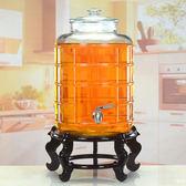 油罐 廚房 家用大號裝油瓶儲花生油桶食用油桶食品級透明玻璃油壺   LannaS