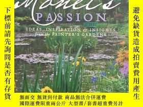 二手書博民逛書店Monet S罕見Passion: Ideas, Inspira