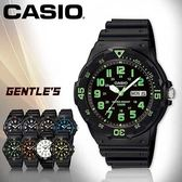 CASIO手錶專賣店 卡西歐  MRW-200H-3B 男錶  防水100米 造型指針 星期、日期顯示  塑膠錶帶