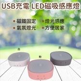 ANTIAN 人體自動感應燈 磁吸感應燈 超薄LED磁吸觸控燈  吸頂燈 LED 磁吸燈 居家可用 充電省電 閱讀